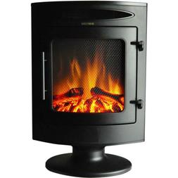 Cambridge 1500W Freestanding Electric Fireplace Heater In Bl