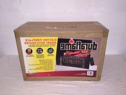 Duraflame 20-in Electric Fireplace Insert with Heater Log Se