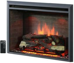 30 Inch Embedded Electric Firebox Heater With Remote Control