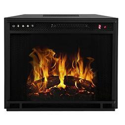 """Regal Flame 28"""" Flat Ventless Heater Electric Fireplace Inse"""