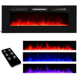 """50"""" Electric Fireplace Recessed insert or Wall Mounted Stand"""