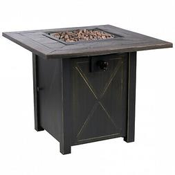 """Bond Manufacturing 51348A Propane Pit Fire Table, 30"""" 50k BT"""