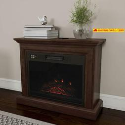 Northwest 80-Fpwf-1 Heat Mobile Electric Fireplace With Mant