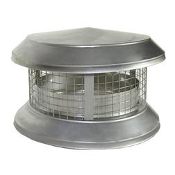 """Shasta 8A-CD 8"""" Deluxe All Fuel Class A Stainless Steel Chim"""