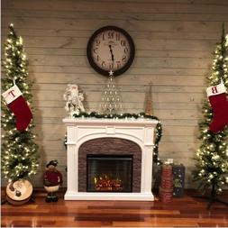 Amazing Electric Fireplace Heater Flickering Flame Screen Fi
