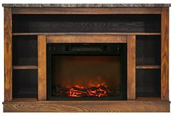 Cambridge CAM5021-1WAL 47 In. Electric Fireplace with 1500W