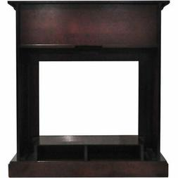 """Cambridge Sienna 34"""" Electric Fireplace Heater with Mahogany"""