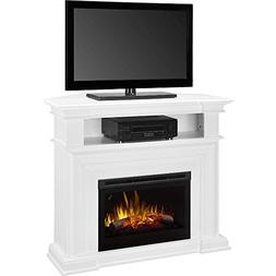 DIMPLEX Colleen Corner TV Stand with Electric Fireplace in W