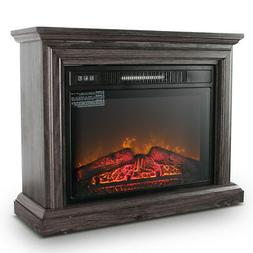 Cozy Living Room Fire Portable Electric Insert Fireplace Hea