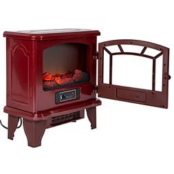 Duraflame DFI-550-22 Infrared Electric Stove Heater, Red 5,2