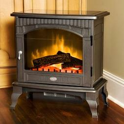 Dimplex DS5629GP Traditional Electric Stove, Glossy Pewter
