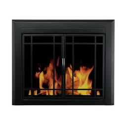 Pleasant Hearth Easton Prairie Cabinet Style Fireplace Scree