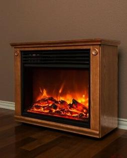 Electric Fire Place Insert Fireplace Heater Remote Control H