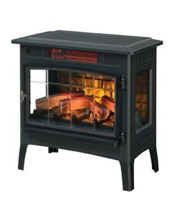 Electric Fireplace Heater For Home Portable Room Thermostat