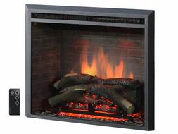 Electric Fireplace Heater Heated Stove Freestanding Radiator