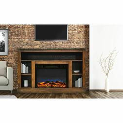 """Electric Fireplace Mantel Heater, Cambridge 47"""" for Living R"""