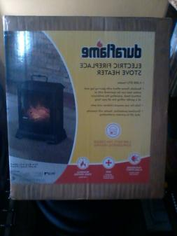 Duraflame Electric Fireplace Stove 4,600 BTU Heater - New in