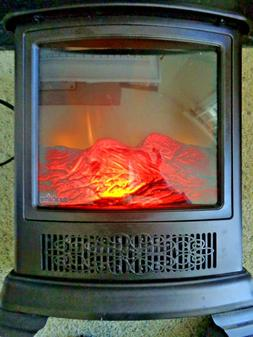 Duraflame DFS-7513-02 Electric Fireplace Stove Heater   New!