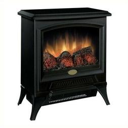 BOWERY HILL Electric Fireplace Stove Heater in Black