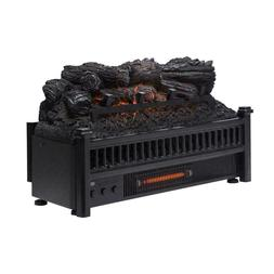 Pleasant Hearth Electric Log fireplace Insert Heater and rem