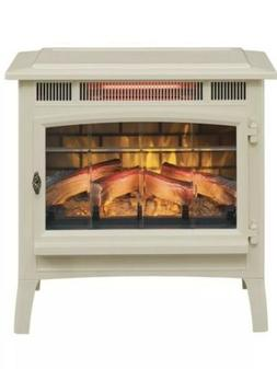 Duraflame Electric Stove With Infrared Heater , Cream Finish