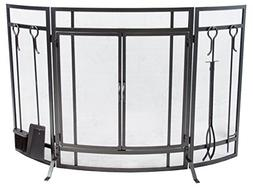Pleasant Hearth FA498ST Curved Screen with Tools