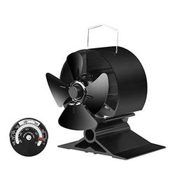 KINDEN Fireplace FansKINDEN Mini Stove Fan - 4 Blades Heat P