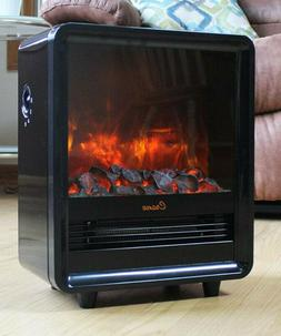 Crane Fireplace Space Heater Adjustable Heat Ceramic Heating