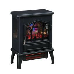 Electric Space Heater Infrared Quartz 3D Chimney Fireplace S