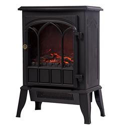 Infrared Quartz Heater Electric Stove Fireplace Flame Effect