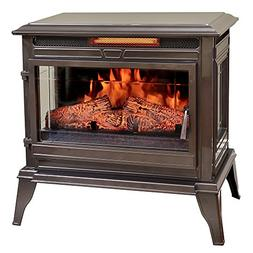 Comfort Smart Jackson Infrared Electric Fireplace Stove Heat