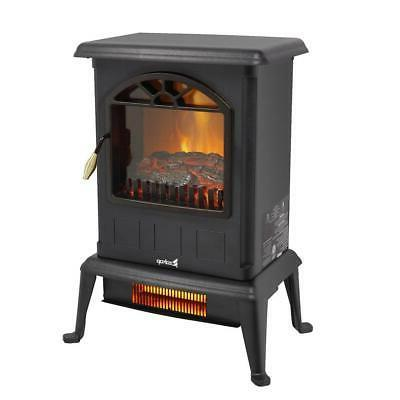 1500W Portable Electric Fireplace Space Log Stove Home