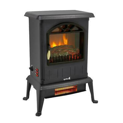 1500W Electric Fireplace Space Log Stove