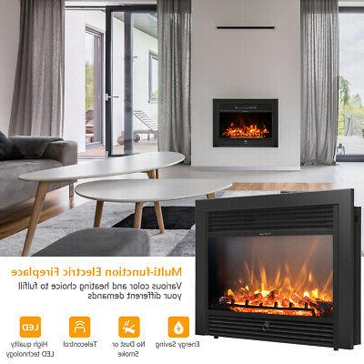 """28.5"""" Insert Glass Log Flame Remote"""