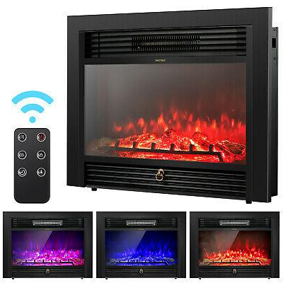 28 5 fireplace electric embedded insert heater