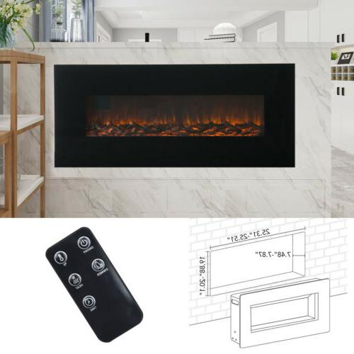 "50"" 1500W Electric 3D Flame Control"