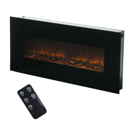 "50"" 1500W Wall Mount Flame Control"