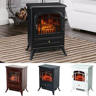 750 1500w electric fireplace freestanding fire flame