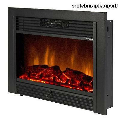 "Best Choice Products 28.5"" Embedded Fireplace Electric Inser"