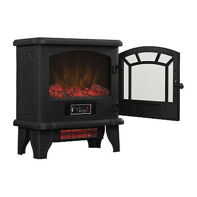 Duraflame Infrared Quartz Electric Stove Fireplace with Remote