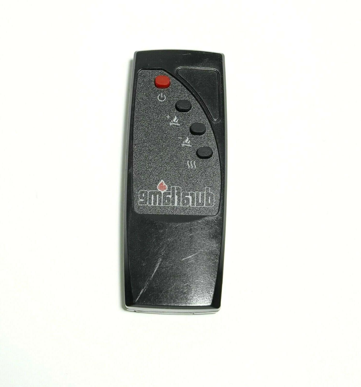 duraflame remote control for electric fireplace space