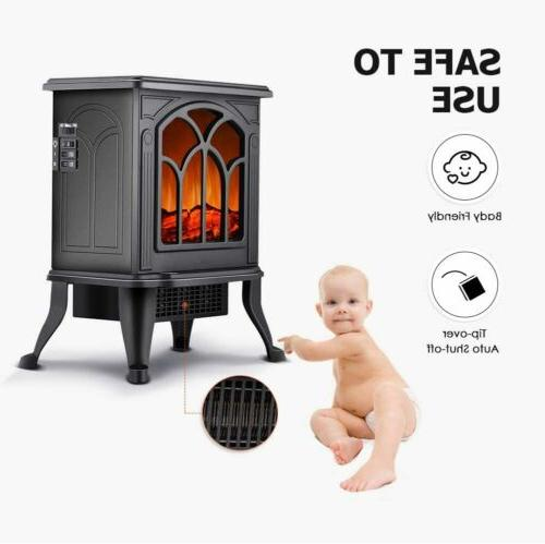 Electric Fireplace Stove Heater Stove Safety