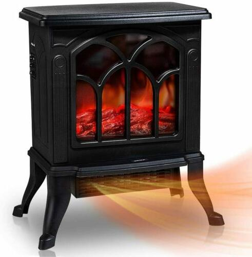 electric fireplace stove heater stove realistic flame