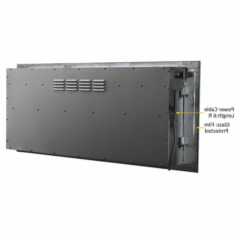 Electric Wall Mounted for Stud Log Crystal 1500W Heater