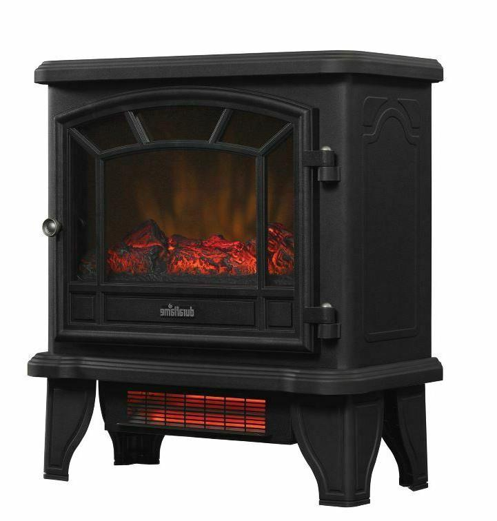 Duraflame Infrared Electric Fireplace Stove Heater