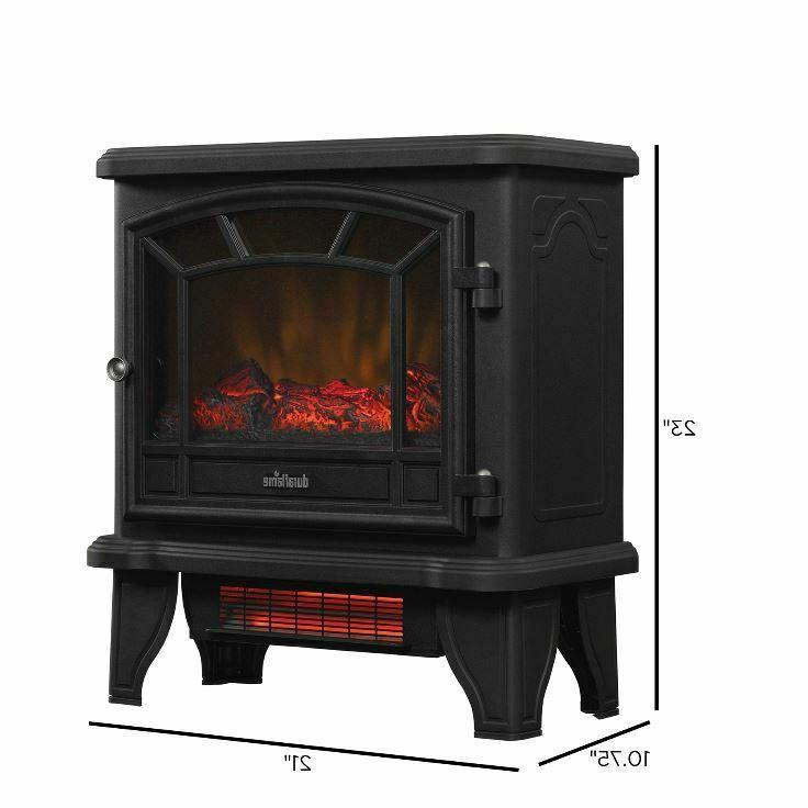 Duraflame Infrared Quartz Electric Fireplace Stove
