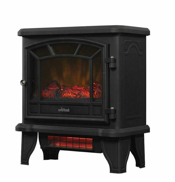 infrared quartz electric fireplace stove heater