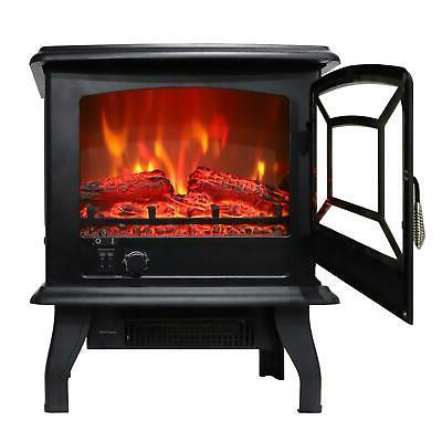 Warm Fireplace Heater Stove Free Standing US