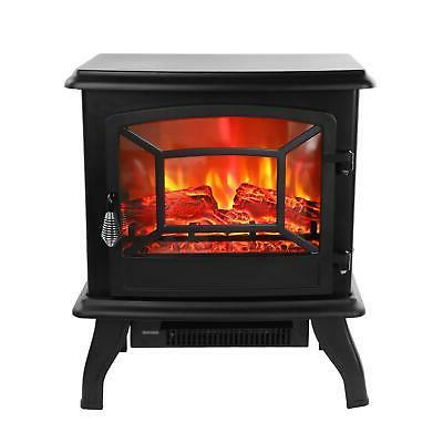 Fireplace Heater Log Stove Standing