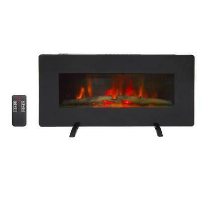 "1400W Wall Mount Freestanding 36"" Electric Fireplace Heater"